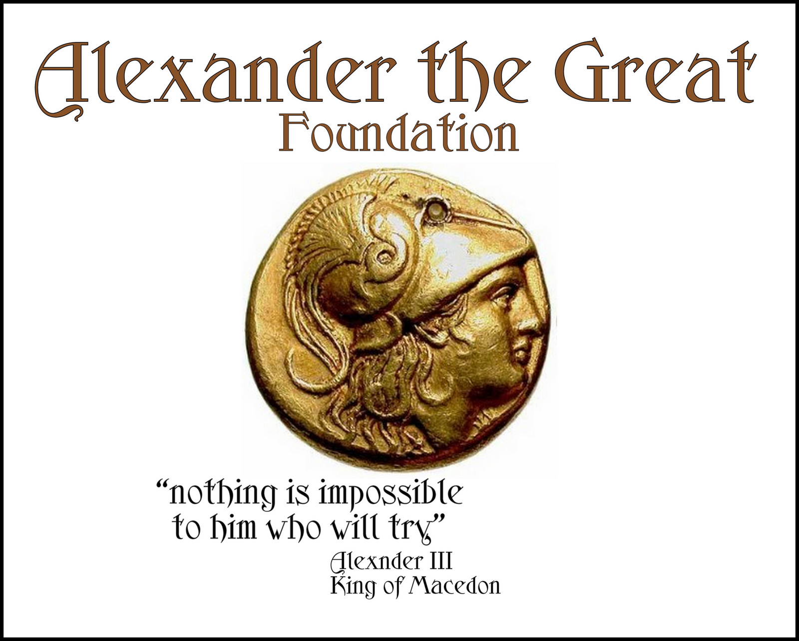 Alexander The Great New Charity Susanna Galanis Classical