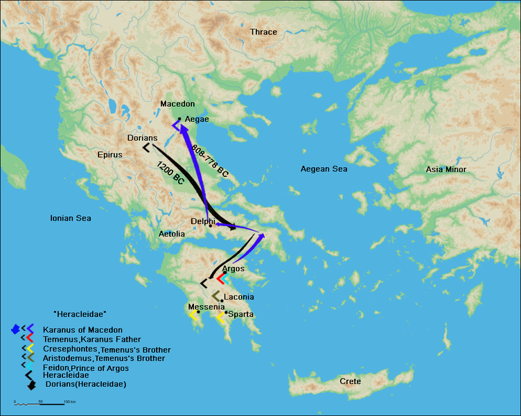 Ancient Greece Map Macedonia.From Hercules To Alexander Argead Dynasty The Legend Of Macedonia