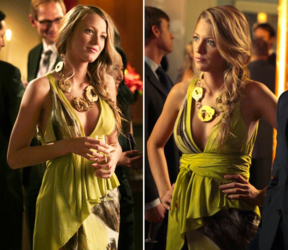 Serena season 6 yellow dress idea