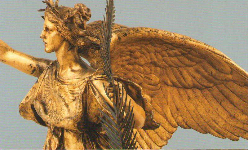 Nike Winged Goddess Of Victory Susanna Galanis Classical