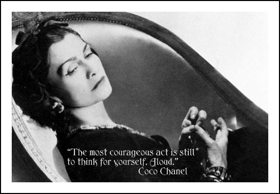 Coco Chanel Quotes Susanna Galanis Classical Education Refine Your Spirit