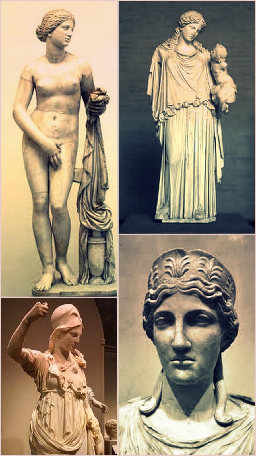 Древние греки прически