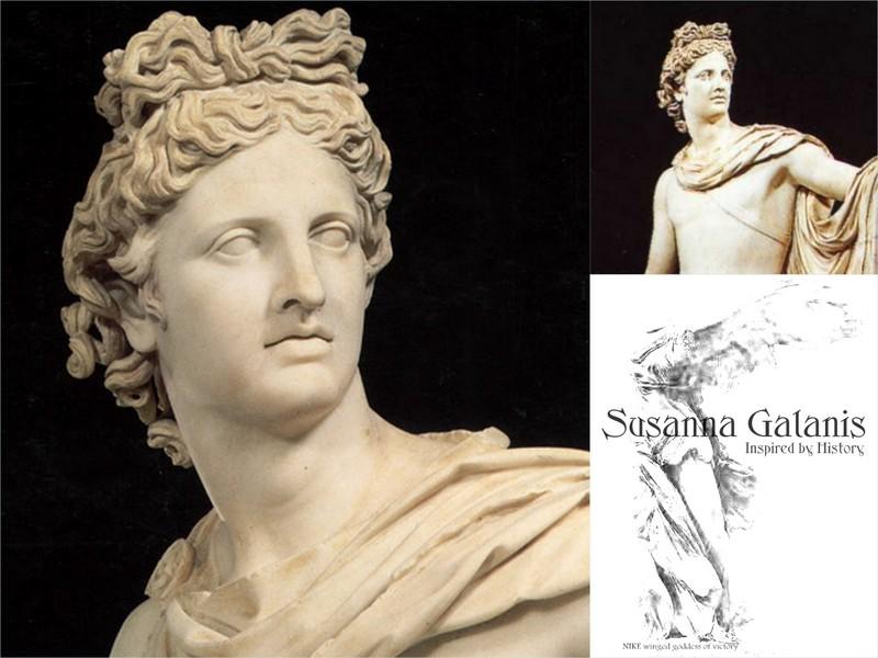 Apollo, Greek God of light | Susanna Galanis Classical ...