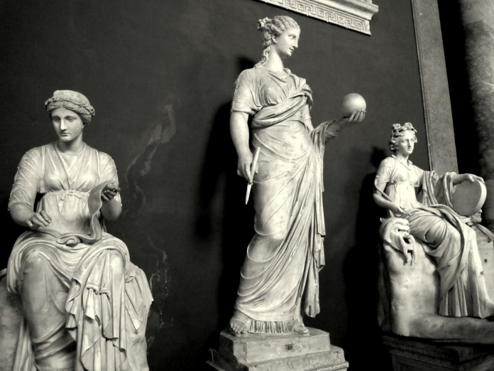 3 muses, vatican museums