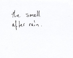 rain-smell
